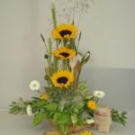 1st Prize Floral Arrangement Representing a Baker's Dozen