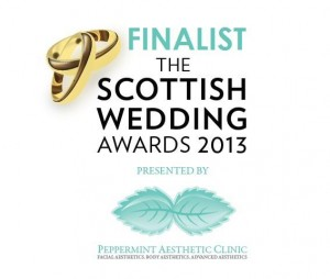 Scottish Wedding Awards 2013 Finalist Badge