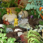 A Junior's Miniature Garden based on a Disney Theme