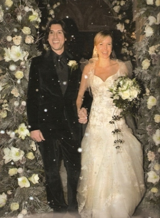 Amanda Holden 39s Winter Wedding Last month Amanda Holden married her music