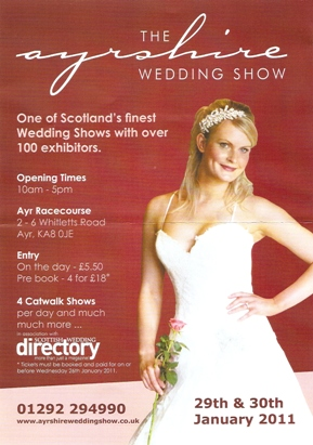 Ayrshire Wedding Show 2011 Flyer