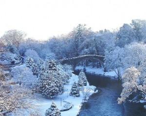 Brig O Doon in the Snow
