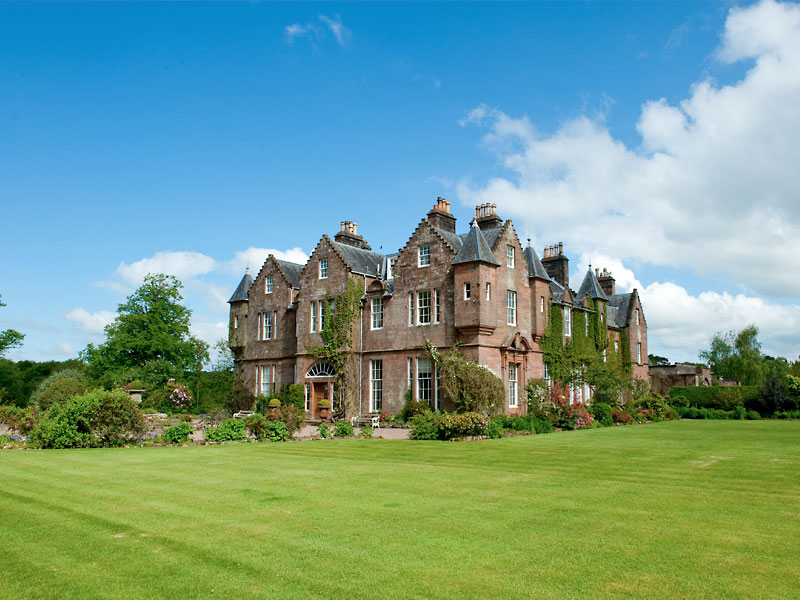 Carnell House in Ayrshire