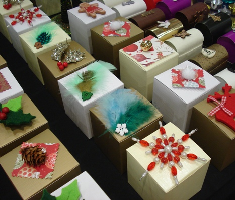 Christmas Favour Box Designs for 2011