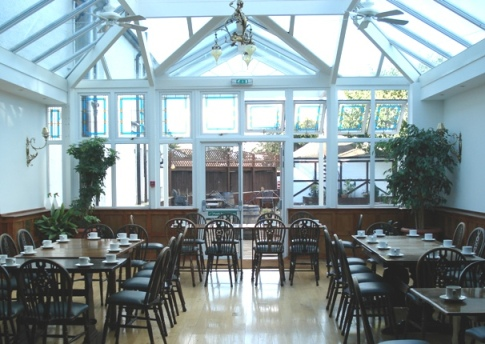 Conservatory at the Abbotsford Hotel