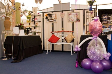 Sarah's display at the Ayr Flower Show in 2010