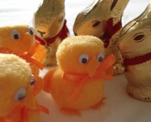Easter chicks & bunnies