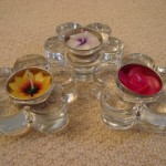Elegant floral tealights to accessorise your home and garden
