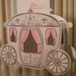 Fairytale carriage favour box