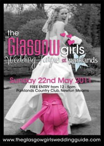 Glasgow Girls Wedding Fayre on 22nd May