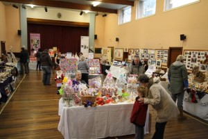 Hall Set-up for Creative Gift Fayre 261111