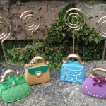 Handbag Placecard Holders at   ' £3.25 Each