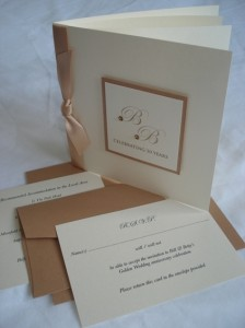 Invitation, RSVP & Card Insert for Golden Wedding Anniversary