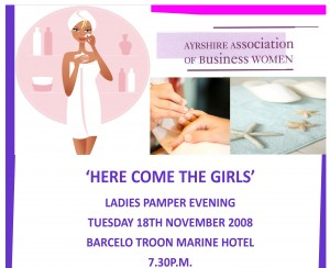 aabw's Ladies Pamper Evening