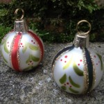 Mistletoe Bauble Placecard Holders at   ' £2.55 Each