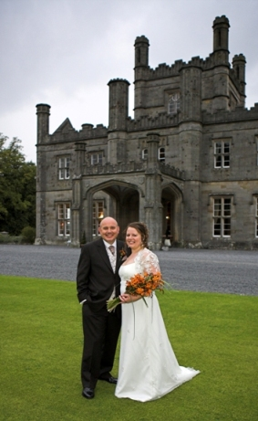 My Wedding Day at Blairquhan Castle