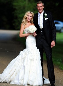 Peter Crouch & Abbey Clancey
