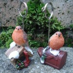 Robin Placecard Holders at   ' £3.25 Each