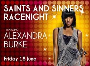 Saints & Sinners at Ayr Racecourse June 2010