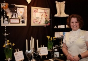 Sarah at the Ayrshire Wedding Show
