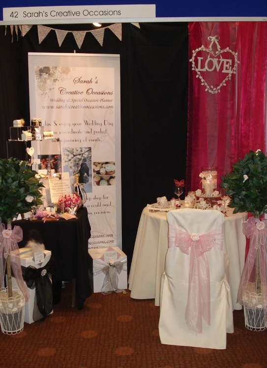Sarah's Creative Occasions at the Ayrshire Wedding Show 2012