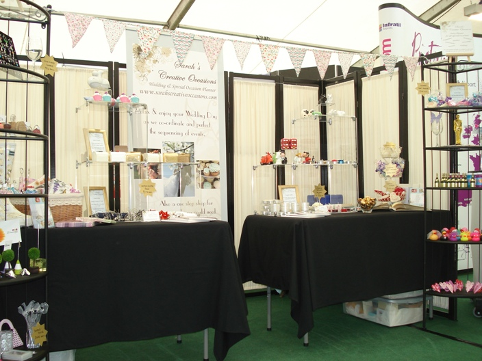 Sarah's Creative Occasions' Stall at the Ayr Flower Show 2011