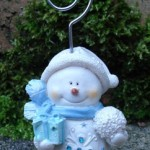 Snowman Placecard Holders at   ' £2.55 Each