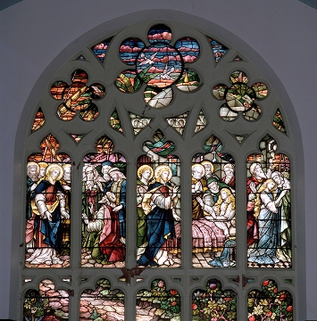 St Meddan's Church South Elevation Stained Glass Window