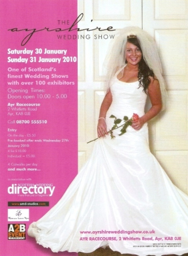 The Ayrshire Wedding Show Flyer