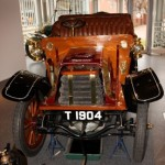 An Imperial classic car at the MOSI