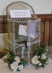 The Wedding Card Post Box