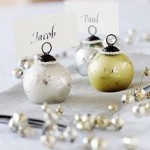 Traditional Bauble Place Card Holders