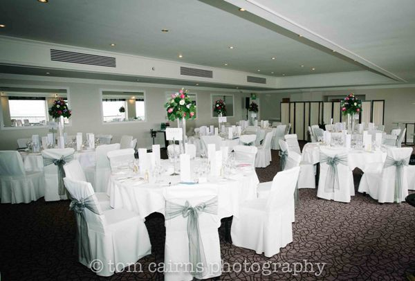 Turnberry Suite dressed for Andy & Toni's Wedding June 2012